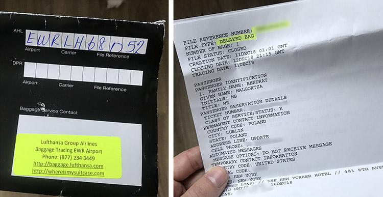 reclamacion maleta vuelos