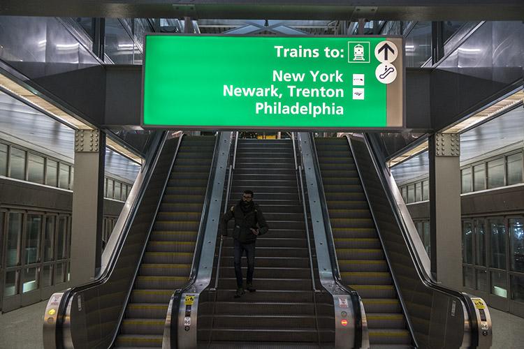 trenes a Nueva York