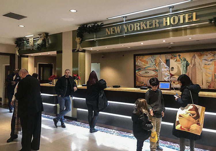 check in hotel new yoekers Nueva York