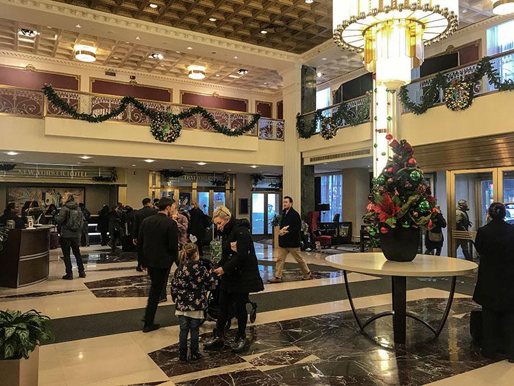 lobby hotel new yorker