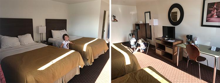 motel en page habitacion