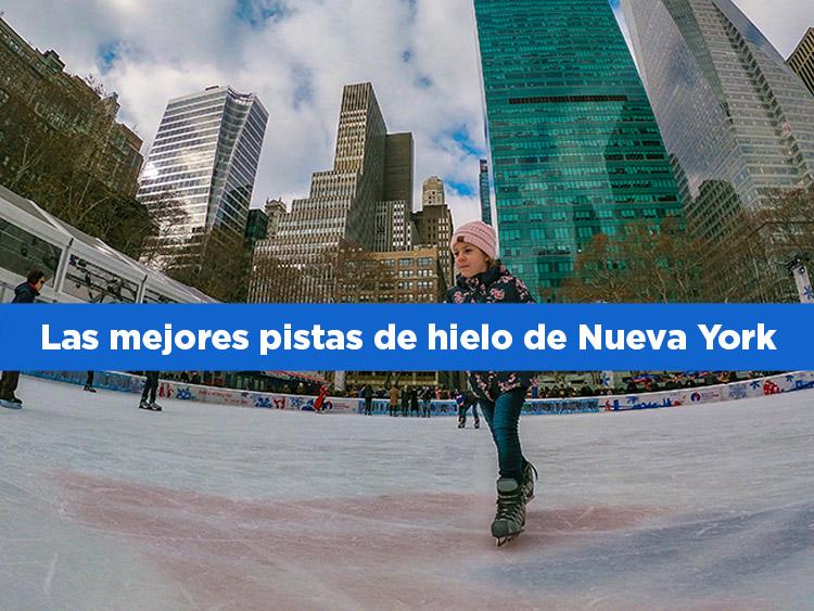 Las mejores pistas de hielo de Nueva York