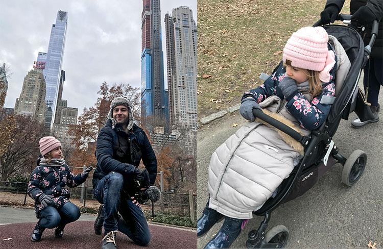 ropa Nueva York invierno frio