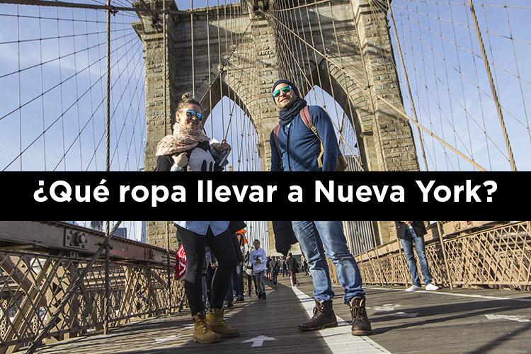 ¿Qué ropa llevar a Nueva York?