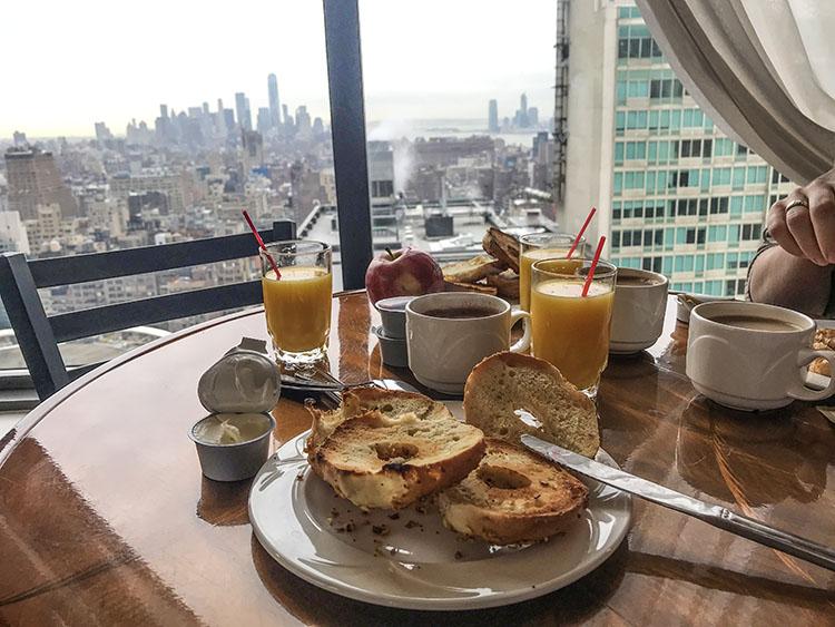 vistas desayuno nueva york