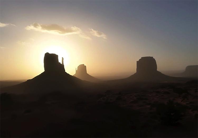 viajar en autocaravana en Monument Valley