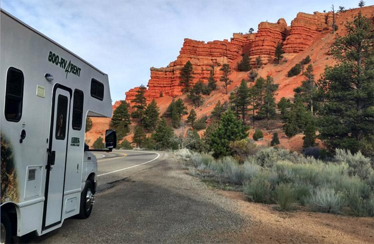viajar en caravana por la costa oeste