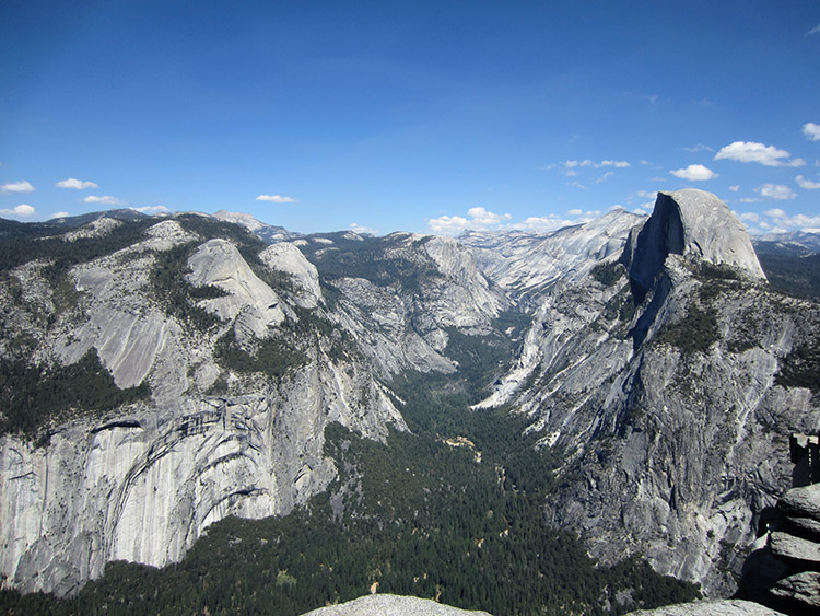 Glacier point molavijar Yosemite