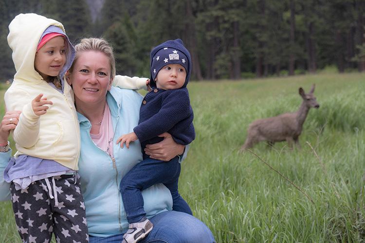 animales en Yosemite molaviajar