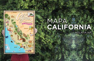 Molaviajar California map