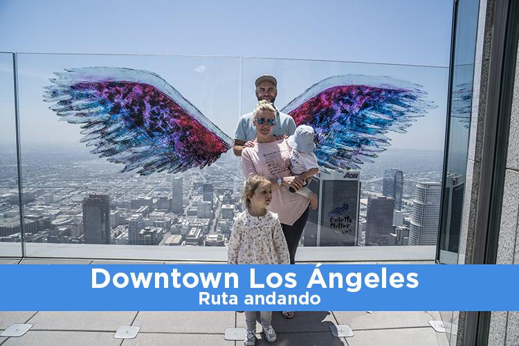 Downtown Los Ángeles: Ruta andando