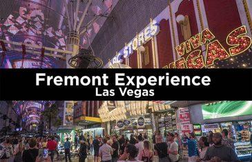 Fremont Experience Las Vegas. Guía de visita