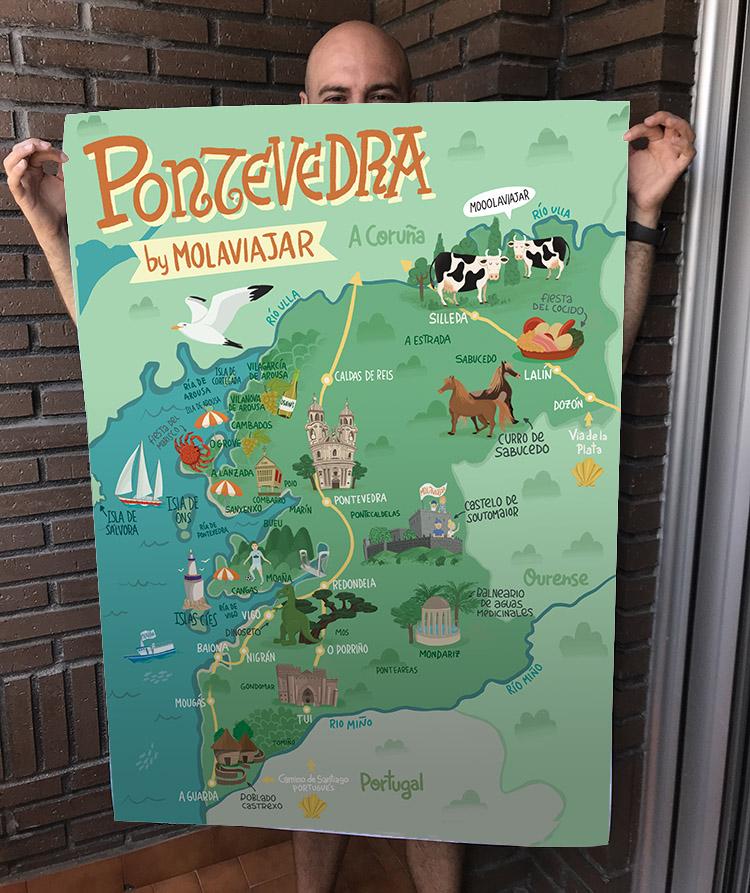 Mapa-pontevedra-Galicia-por-Molaviajar