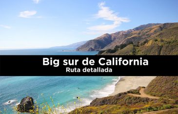 Big sur de California ruta