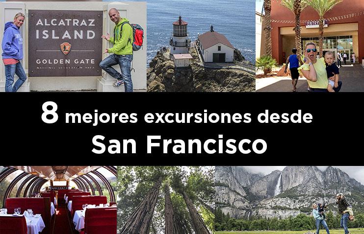 Las 8 mejores excursiones desde San Francisco