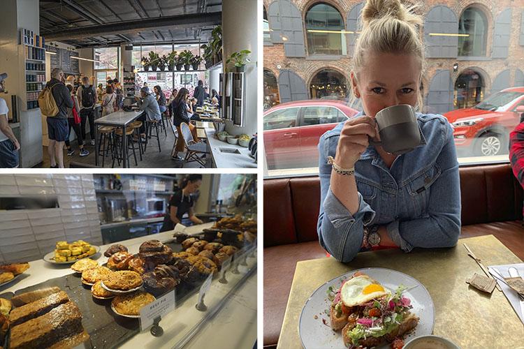 cafeteria dumbo Ruta por Brooklyn Heights y DUMBO