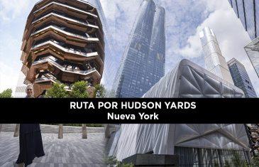 Ruta andando por hudson yards nueva york