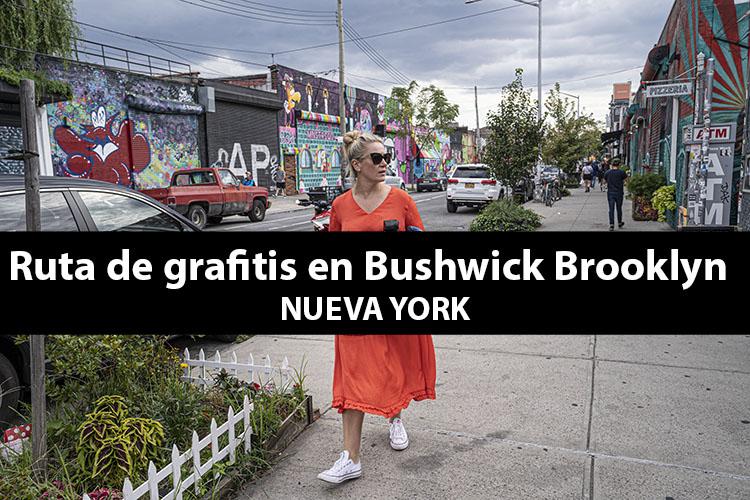 Ruta de grafitis en Bushwick, Brooklyn