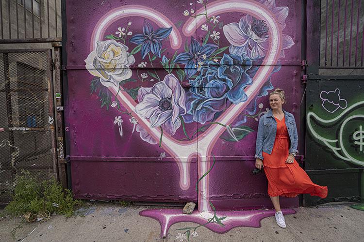 gosi ruta de grafitis en Bushwick