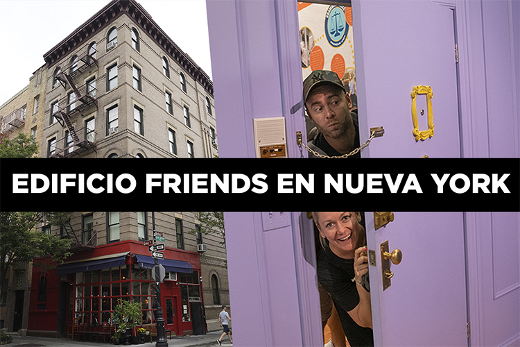 La casa de Friends en Nueva York