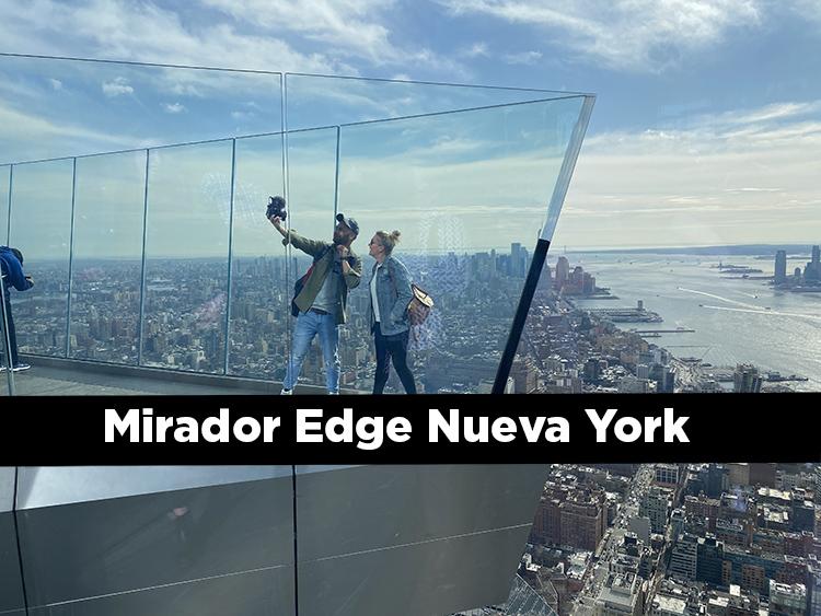 Mirador Edge en Nueva York. El nuevo observatorio de Manhattan