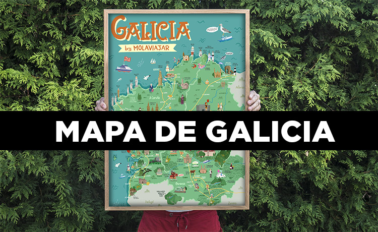 Mapa de Galicia