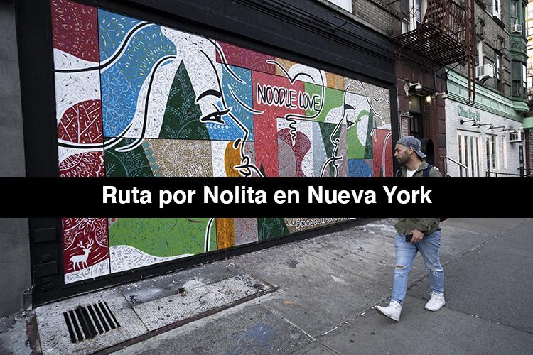 Ruta por Nolita en Nueva York