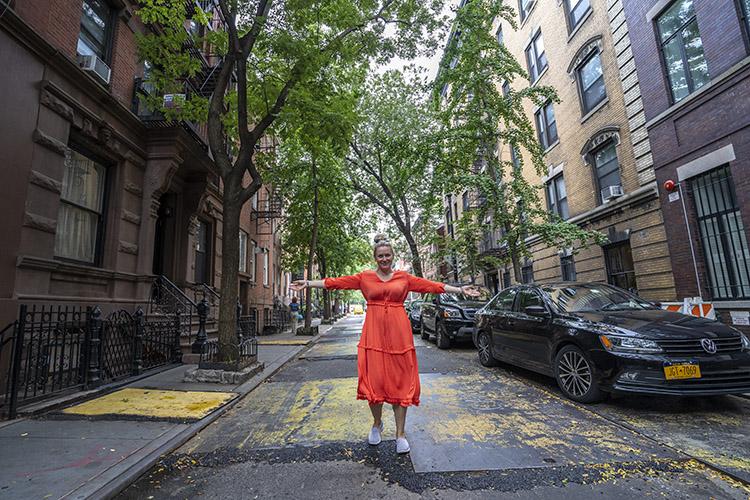 calle Greenwich Village en Nueva York