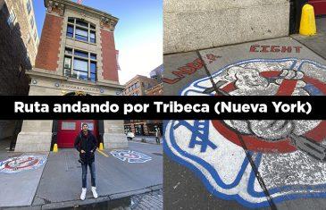 ruta andando por tribeca Nueva York