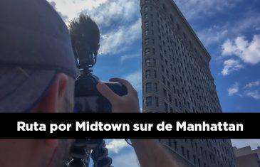 Ruta por Midtown sur de Manhattan