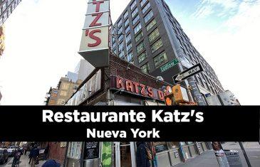 Restaurante katzs en Nueva York