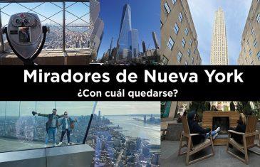 Miradores en Nueva York