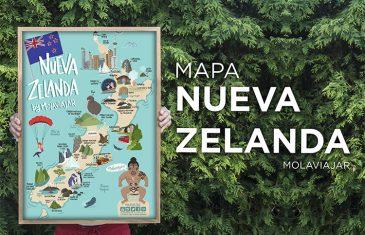 Mapa Nueva Zelanda Molaviajar