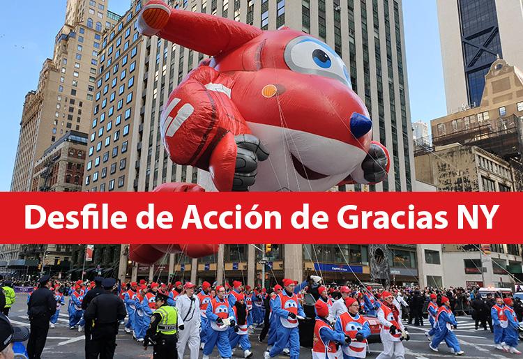 Desfile de Accion de Gracias en Nueva York