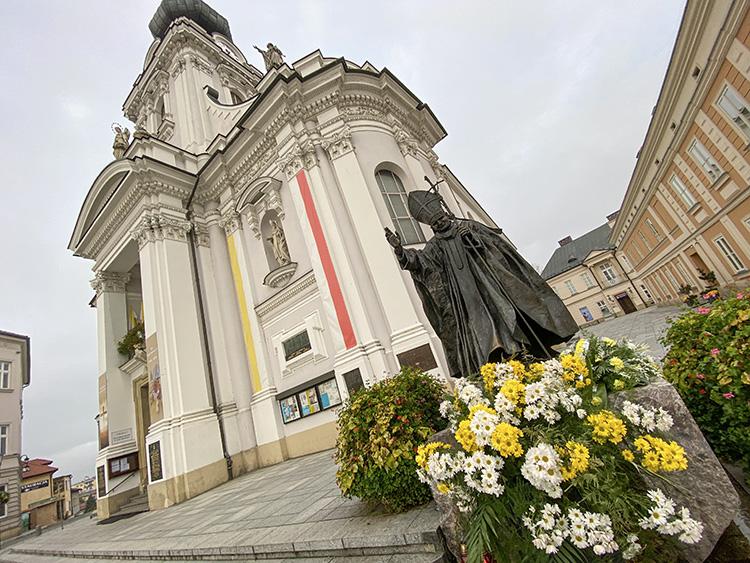 Juan Pablo II en Wadowice