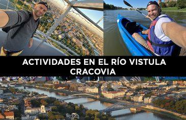 actividades rio Vistula en Cracovia