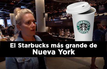 El Starbucks más grande de Nueva York
