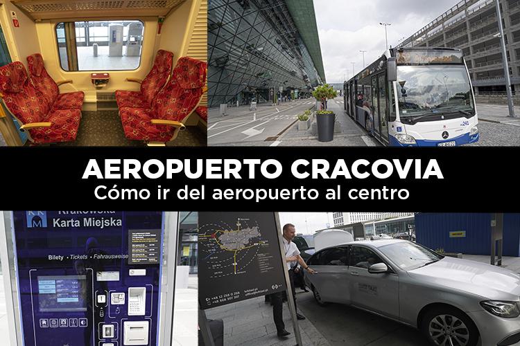 Cómo ir del aeropuerto de Cracovia al centro