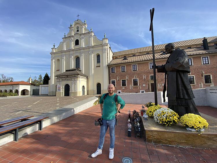 Santuario de la santa Cruz en Mogiła