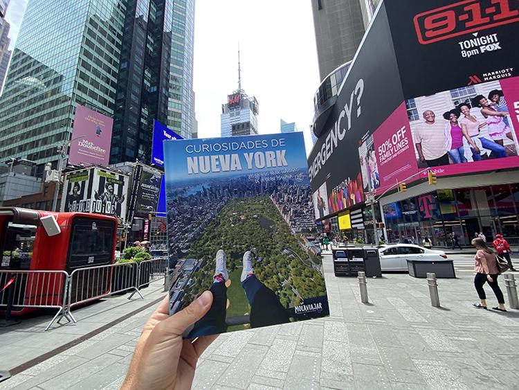 Libro curiosidades de Nueva York molaviajar