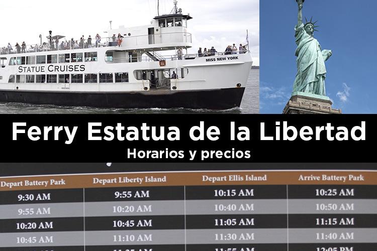 Ferry Estatua Libertad