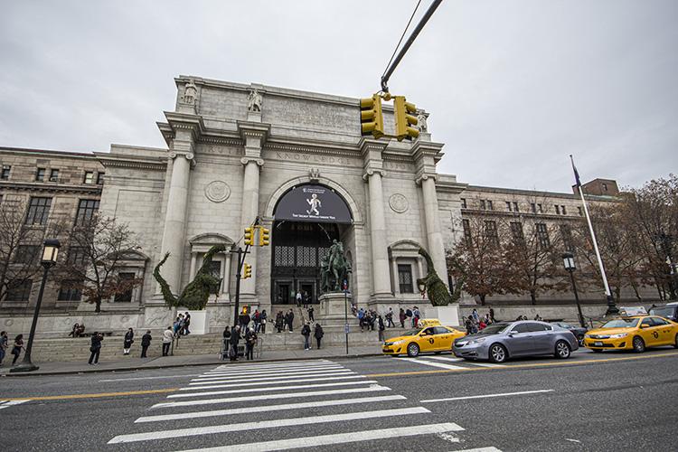 EXTERIOR INTERIOR MUSEO Historia Natural de Nueva York