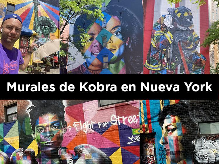 MURALES GRAFITIS KOBRA NUEVA YORK